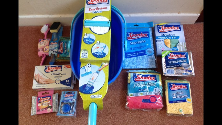 My Review Of Spontex Cleaning Products - Started In 1932 And Number 1 In UK!
