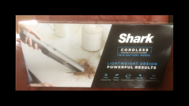 Review Of Shark Cordless Handheld Vacuum Cleaner [Twin Battery] WV251UK
