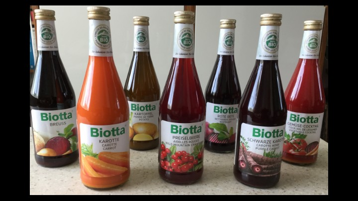 My Review Of Biotta Organic Fruit And Vegetable Juices Supplied By A.Vogel