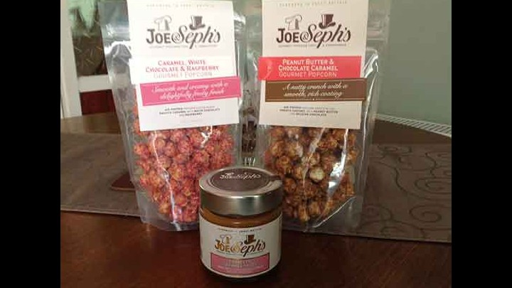 Perfect Popcorn And Caramel Sauces From Joe & Sephs - The Varieties Get Better And Better!