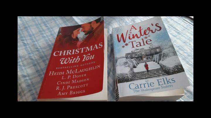 My Review Of A Winters Tale By Carrie Elks And Christmas With You By Various Authors