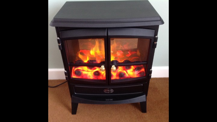 A Truly Elegant And Impressively Efficient Electric Stove From Dimplex, Ideal For Modern Living