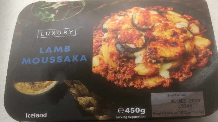 A Week On Ready Meals From Iceland Day 3 Lamb Moussaka