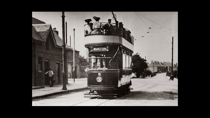 Taking The Old - Time Tram