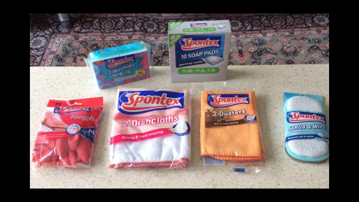 Reviewing Spontex Products To Make Housework Easier!