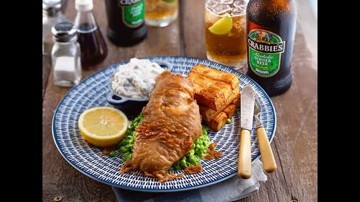 Adding Crabbies Alcoholic Ginger Beer Makes For Super Tasting Fish And Chips!
