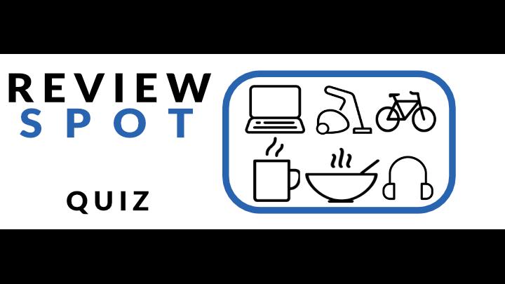 ReviewSpot Topical News Quiz Week 110